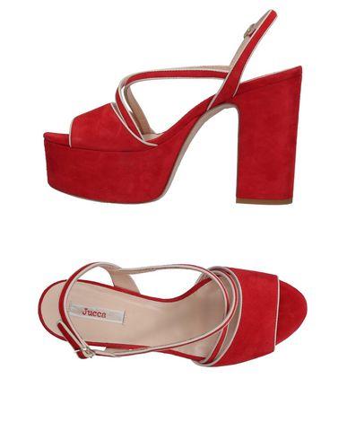 Фото - Женские сандали JUCCA красного цвета