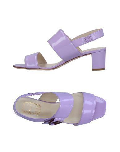 Фото - Женские сандали  светло-фиолетового цвета