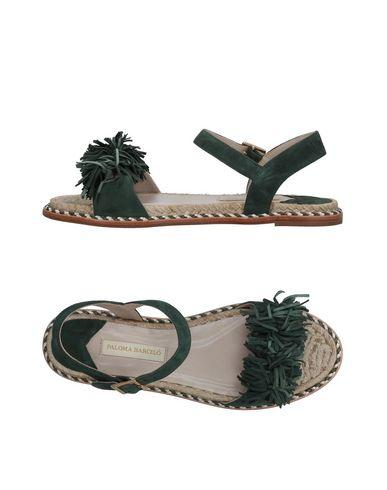 Фото - Женские сандали PALOMA BARCELÓ темно-зеленого цвета