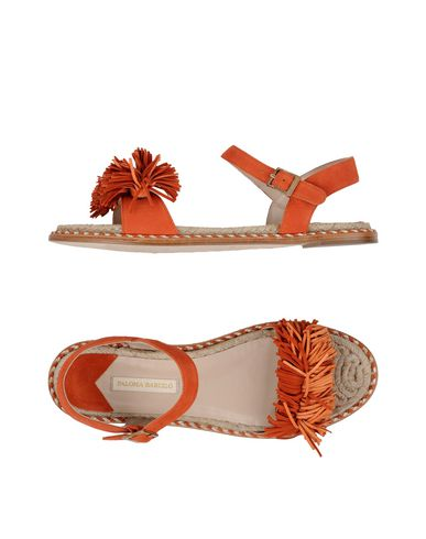 Фото - Женские сандали PALOMA BARCELÓ оранжевого цвета