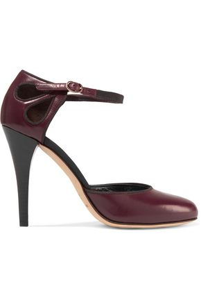 VANESSA SEWARD Cutout leather pumps