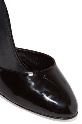 VANESSA SEWARD Cutout patent-leather pumps
