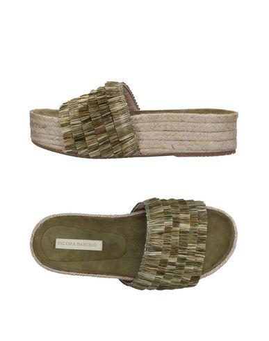 Фото - Женские сандали PALOMA BARCELÓ зеленого цвета