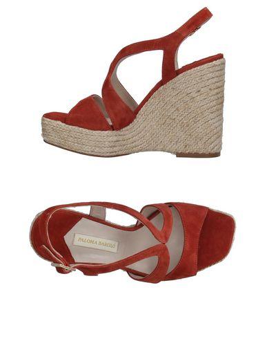 Фото - Женские сандали PALOMA BARCELÓ коричневого цвета