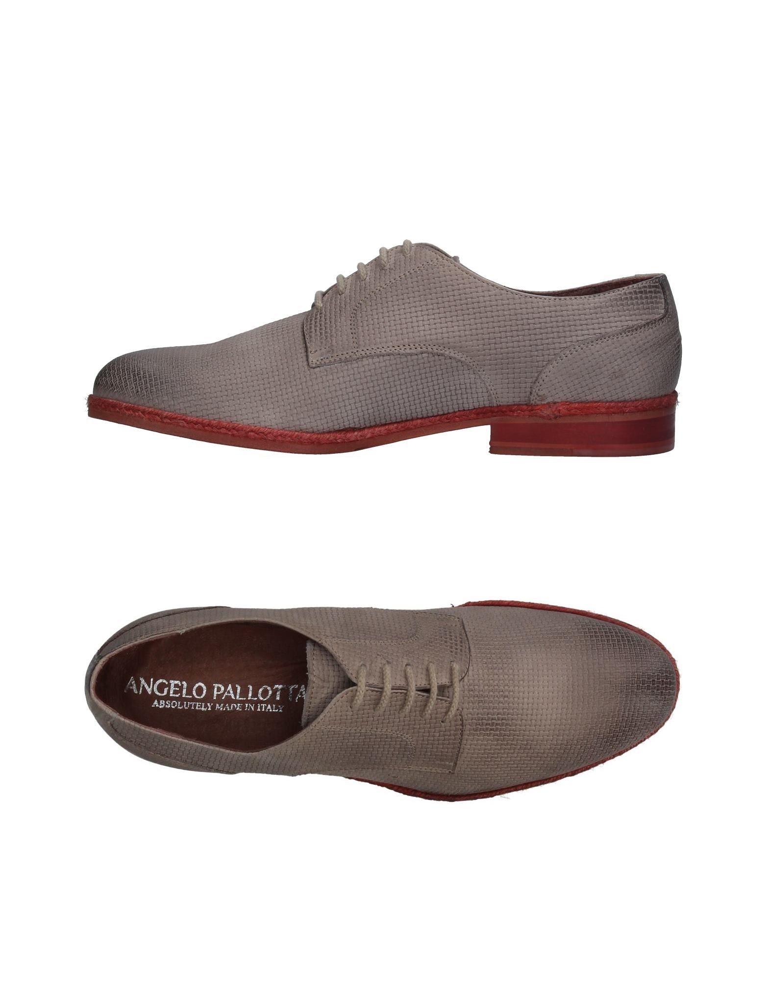 Фото ANGELO PALLOTTA Обувь на шнурках. Купить с доставкой