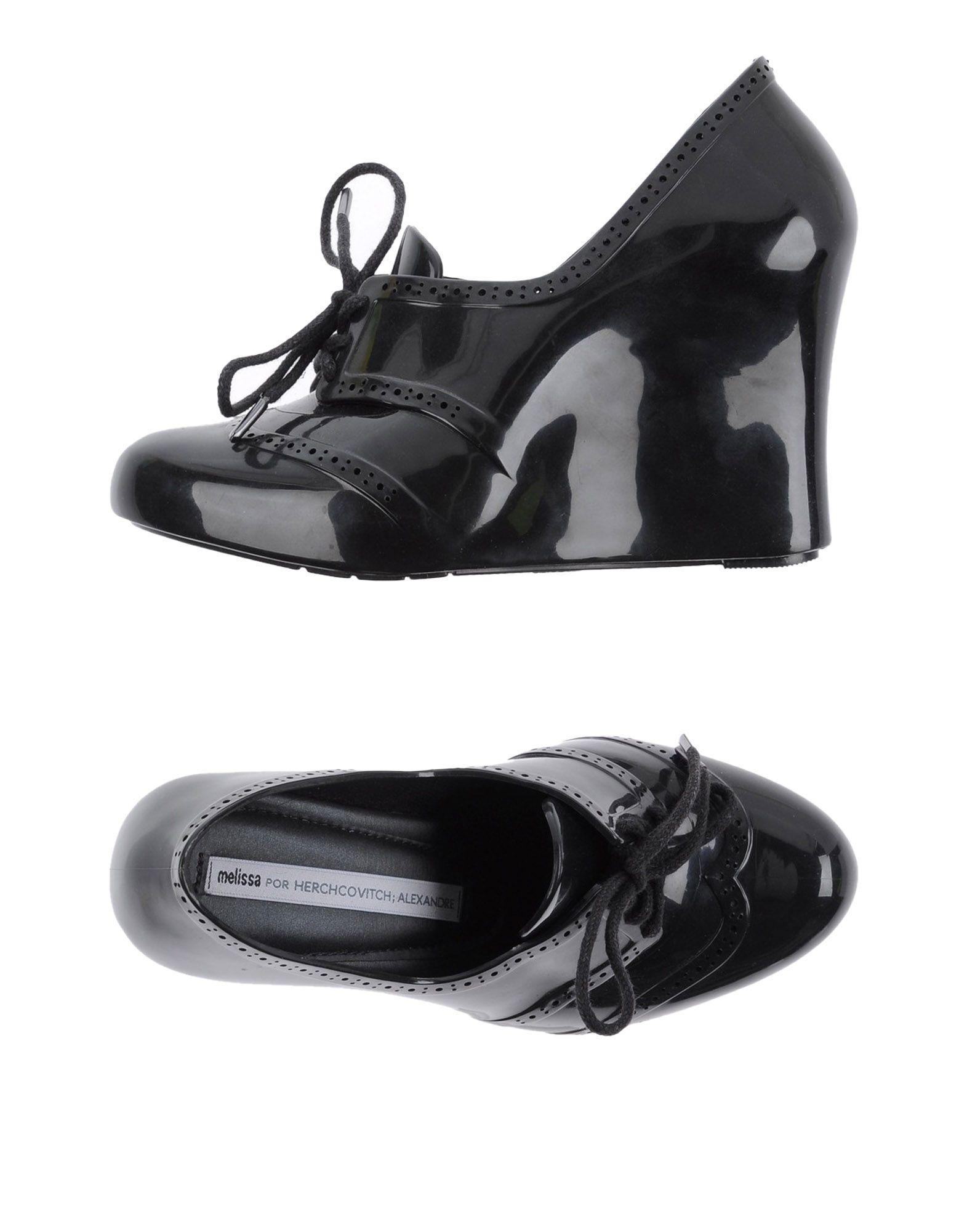 MELISSA + ALEXANDRE HERCHCOVITCH Обувь на шнурках melissa alexandre herchcovitch вьетнамки