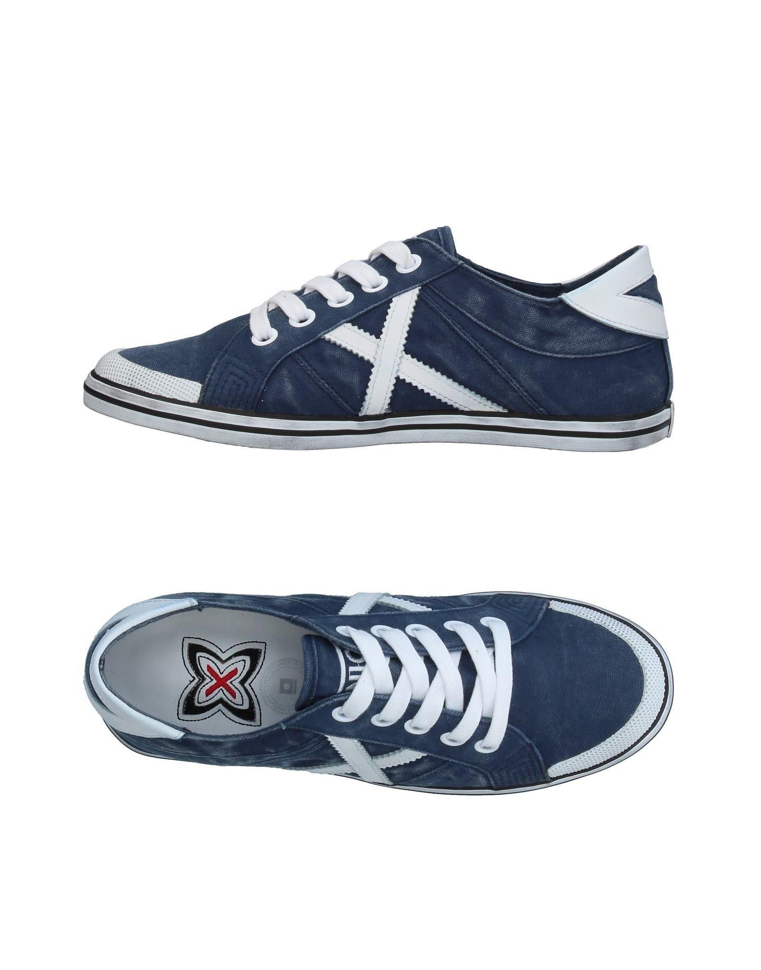 MUNICH Damen Low Sneakers & Tennisschuhe Farbe Blau Größe 7 jetzt billiger kaufen