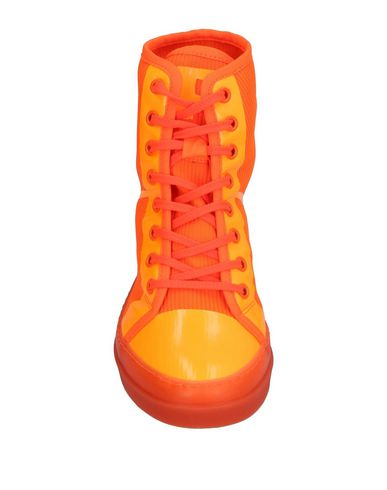 Фото 2 - Высокие кеды и кроссовки от RUCO LINE оранжевого цвета