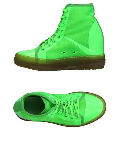 Фото - Высокие кеды и кроссовки от RUCO LINE зеленого цвета