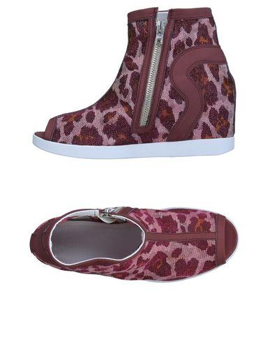 Фото - Высокие кеды и кроссовки от RUCO LINE цвет пурпурный