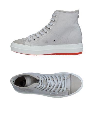 Фото - Высокие кеды и кроссовки от RUCO LINE светло-серого цвета