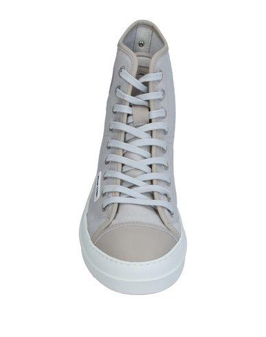 Фото 2 - Высокие кеды и кроссовки от RUCO LINE светло-серого цвета