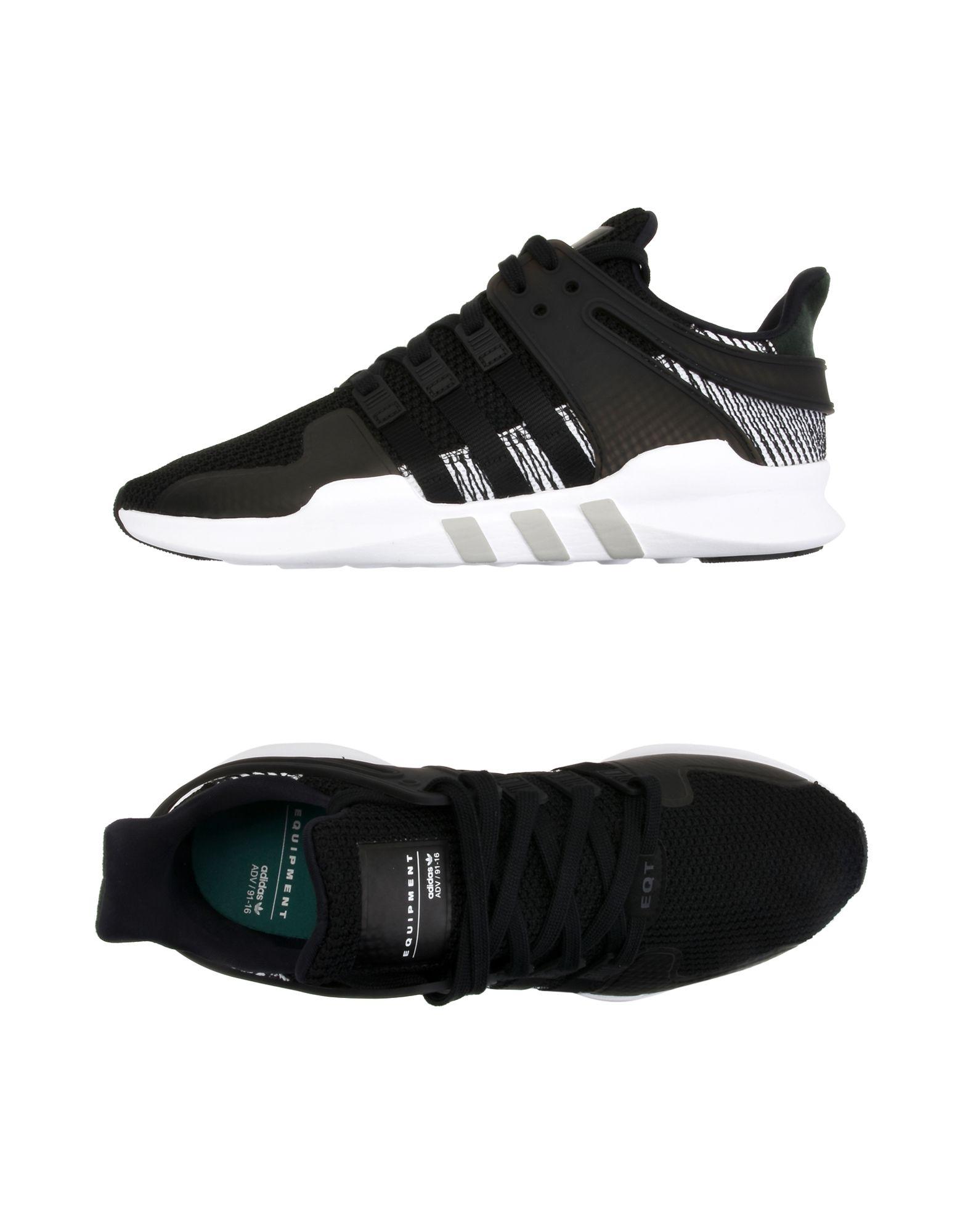 ADIDAS ORIGINALS Низкие кеды и кроссовки кроссовки adidas кроссовки eqt support adv pk cblack cblack ftwwht