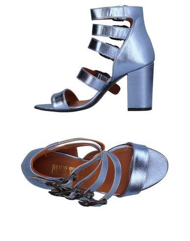 Фото - Женские сандали PARIS TEXAS сиреневого цвета