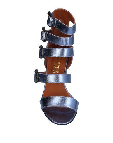 Фото 2 - Женские сандали PARIS TEXAS сиреневого цвета