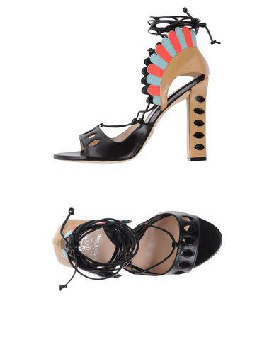 Купить Женские сандали PAULA CADEMARTORI черного цвета