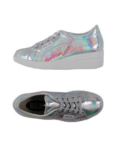 Фото - Низкие кеды и кроссовки от RUCO LINE серебристого цвета