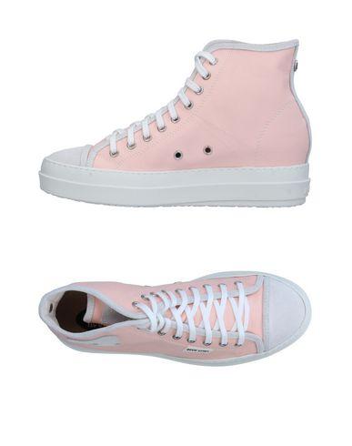 Фото - Высокие кеды и кроссовки от RUCO LINE светло-розового цвета