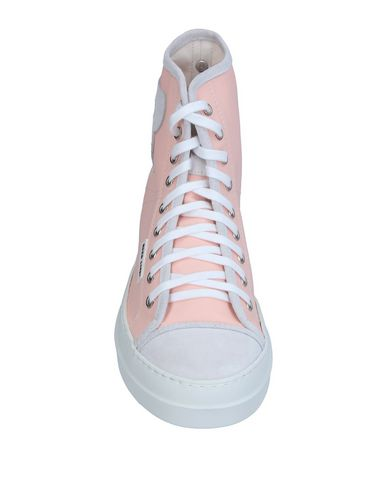Фото 2 - Высокие кеды и кроссовки от RUCO LINE светло-розового цвета