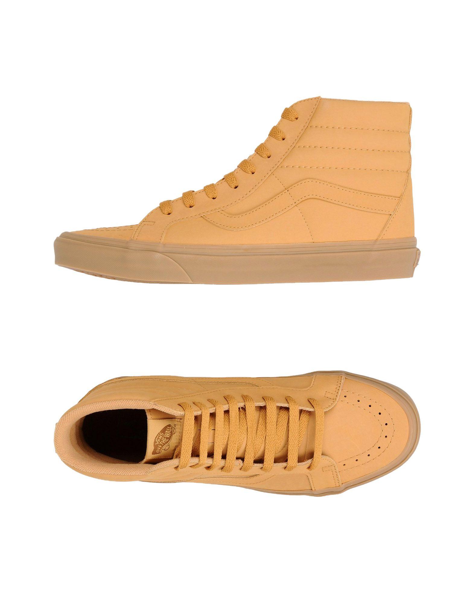 Фото - VANS Высокие кеды и кроссовки кеды мужские vans ua sk8 mid цвет белый va3wm3vp3 размер 9 5 43