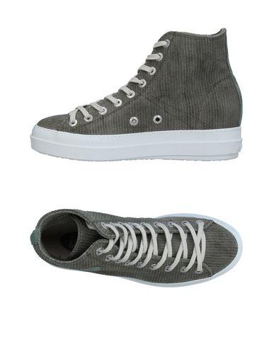 Фото - Высокие кеды и кроссовки от RUCO LINE цвет зеленый-милитари