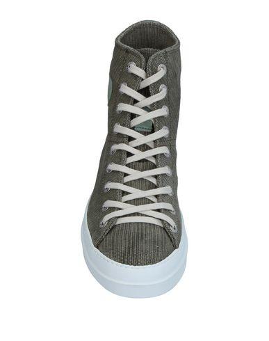 Фото 2 - Высокие кеды и кроссовки от RUCO LINE цвет зеленый-милитари