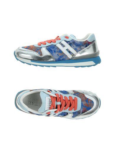 Купить Низкие кеды и кроссовки от HOGAN REBEL синего цвета