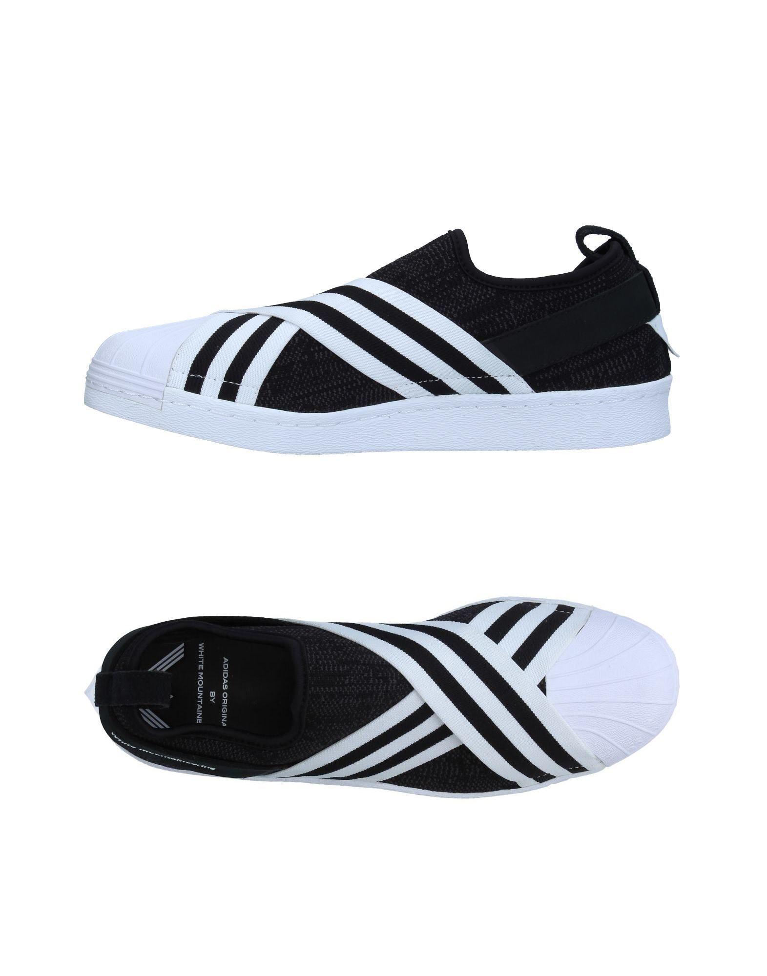 ADIDAS ORIGINALS by WHITE MOUNTAINEERING Низкие кеды и кроссовки adidas originals by pharrell williams толстовка