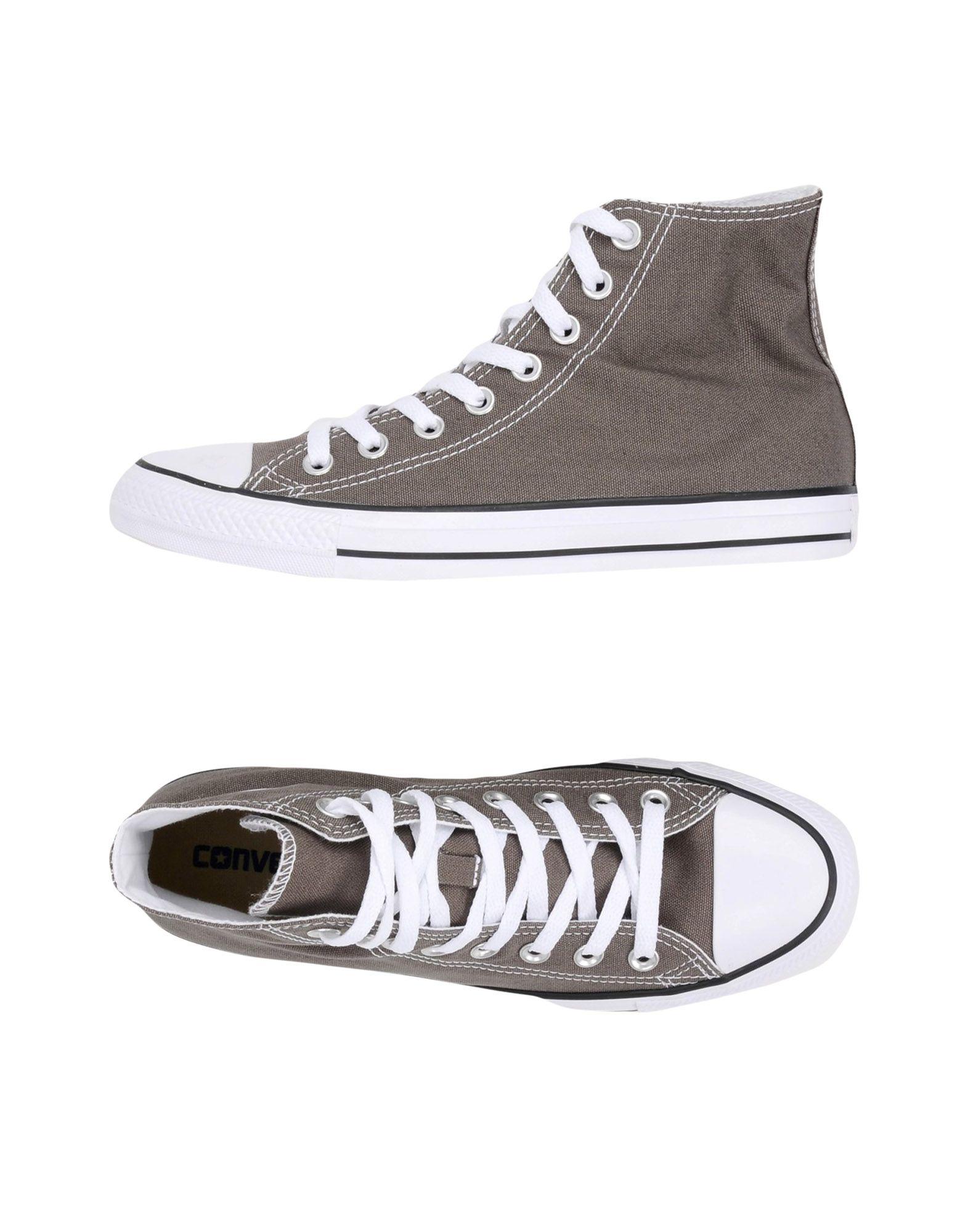 CONVERSE ALL STAR Herren High Sneakers & Tennisschuhe Farbe Grau Größe 6