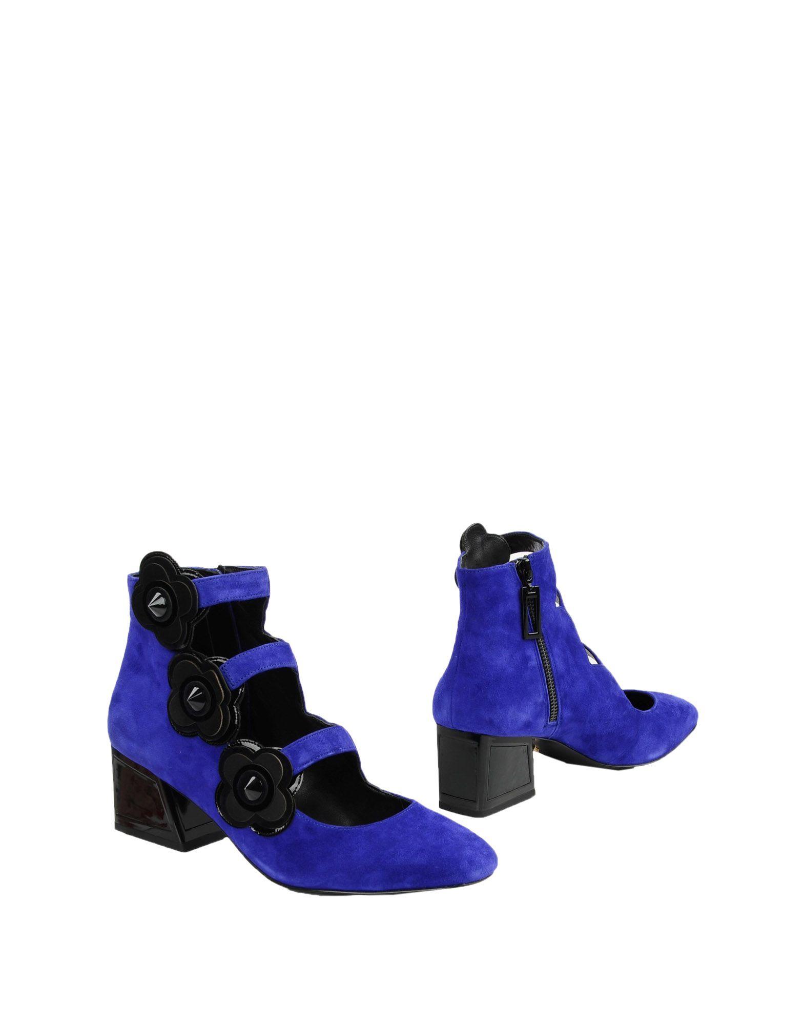 《送料無料》KAT MACONIE レディース ショートブーツ ブルー 5 革