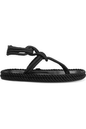 ISABEL MARANT Lesley cord sandals