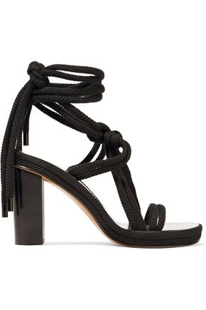 ISABEL MARANT Miana lace-up braided cord sandals