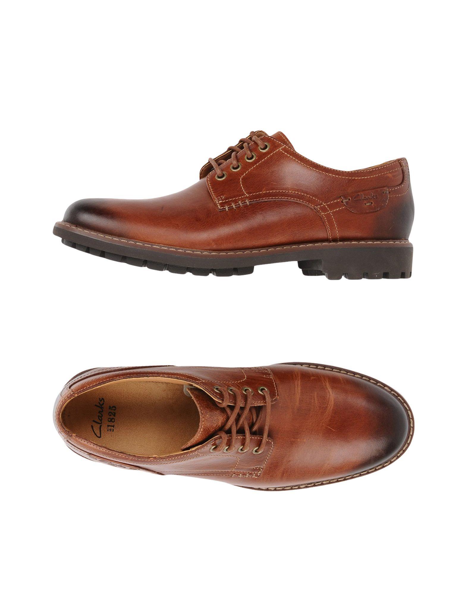 CLARKS Обувь на шнурках обувь для дома clarks 26065835