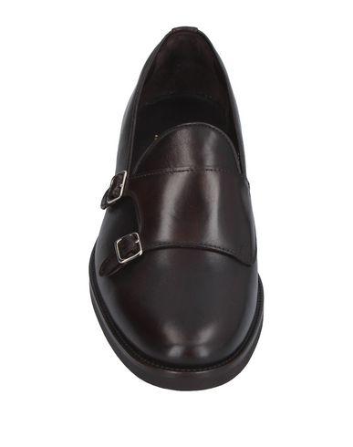 Фото 2 - Мужские мокасины BELSIRE темно-коричневого цвета
