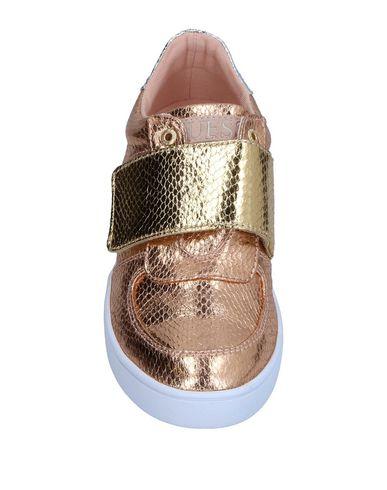 Фото 2 - Низкие кеды и кроссовки цвет медный