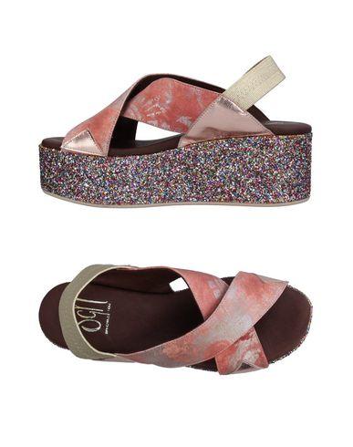 Фото - Женские сандали SGN GIANCARLO PAOLI пастельно-розового цвета