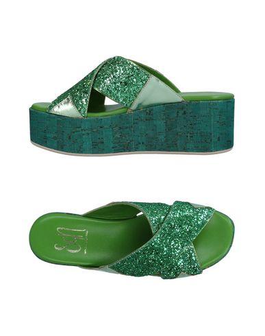 Фото - Женские сандали SGN GIANCARLO PAOLI зеленого цвета