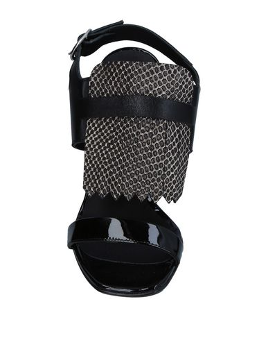 Фото 2 - Женские сандали SGN GIANCARLO PAOLI черного цвета