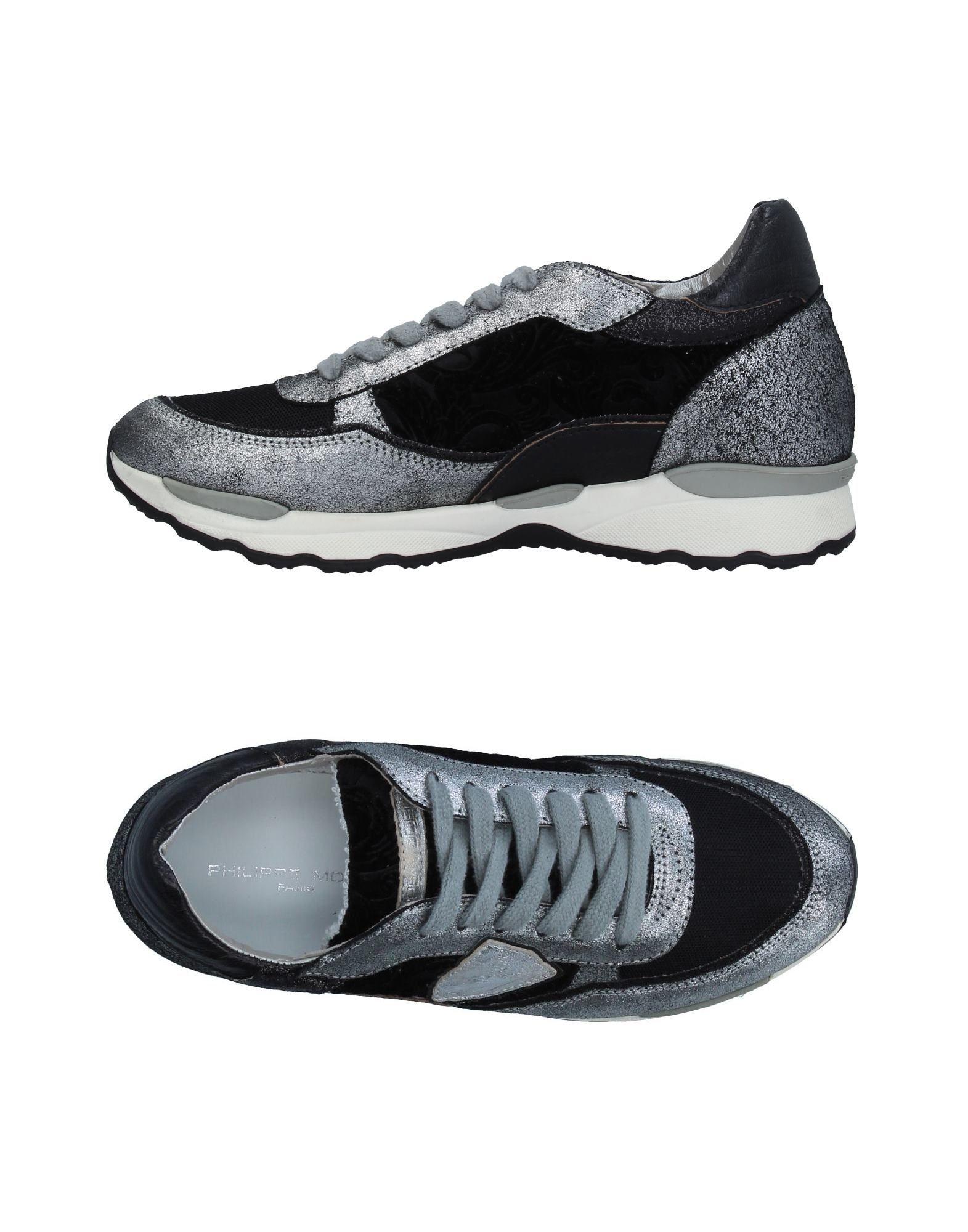 Фото PHILIPPE MODEL Низкие кеды и кроссовки. Купить с доставкой