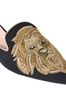 ALBERTA FERRETTI Mia Mules with gold lion Mia Mule Woman e