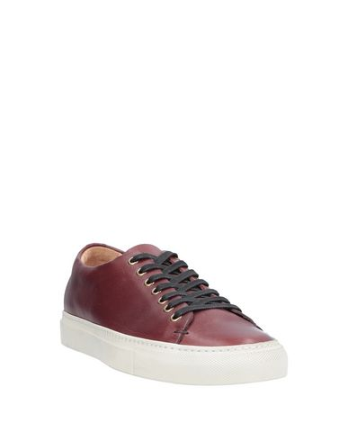 Фото 2 - Низкие кеды и кроссовки красно-коричневого цвета