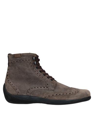 Купить Полусапоги и высокие ботинки от LO.WHITE цвет голубиный серый