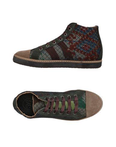 Фото - Высокие кеды и кроссовки от SOISIRE SOIEBLEU цвета хаки