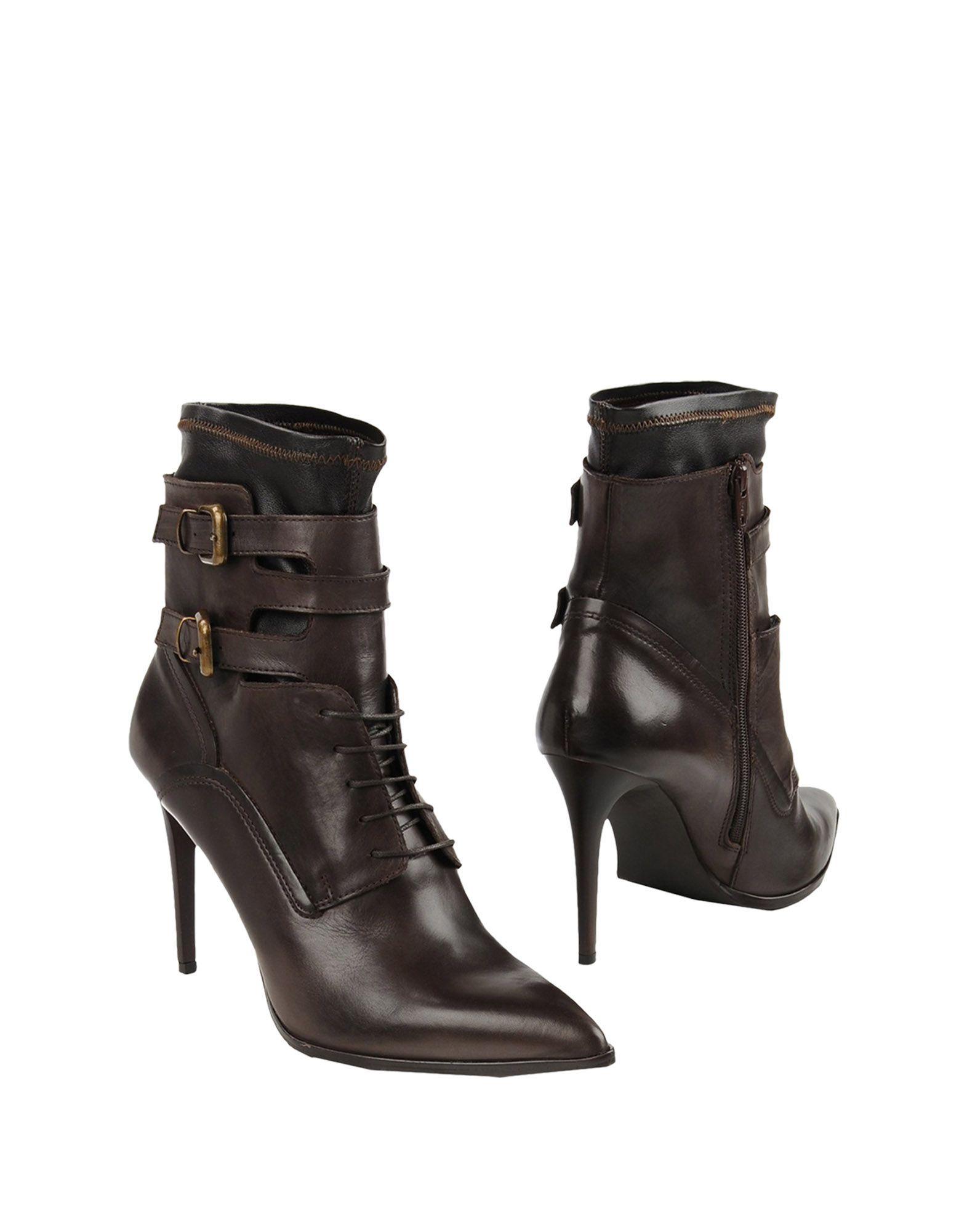 DÉNOUÉE Полусапоги и высокие ботинки цены онлайн