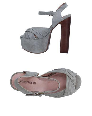 Фото - Женские сандали JEFFREY CAMPBELL серого цвета