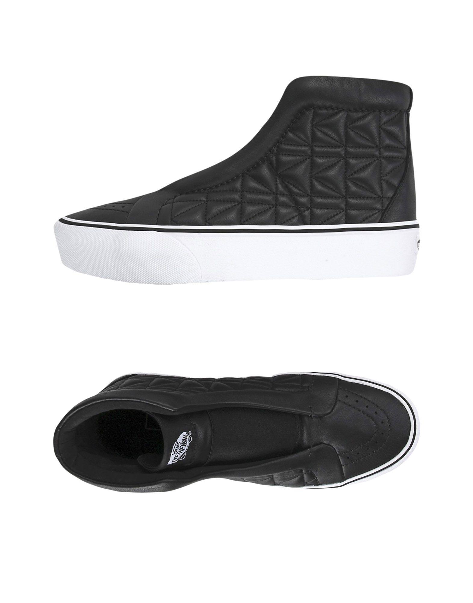 VANS x KARL LAGERFELD Высокие кеды и кроссовки fendi x karl lagerfeld низкие кеды и кроссовки