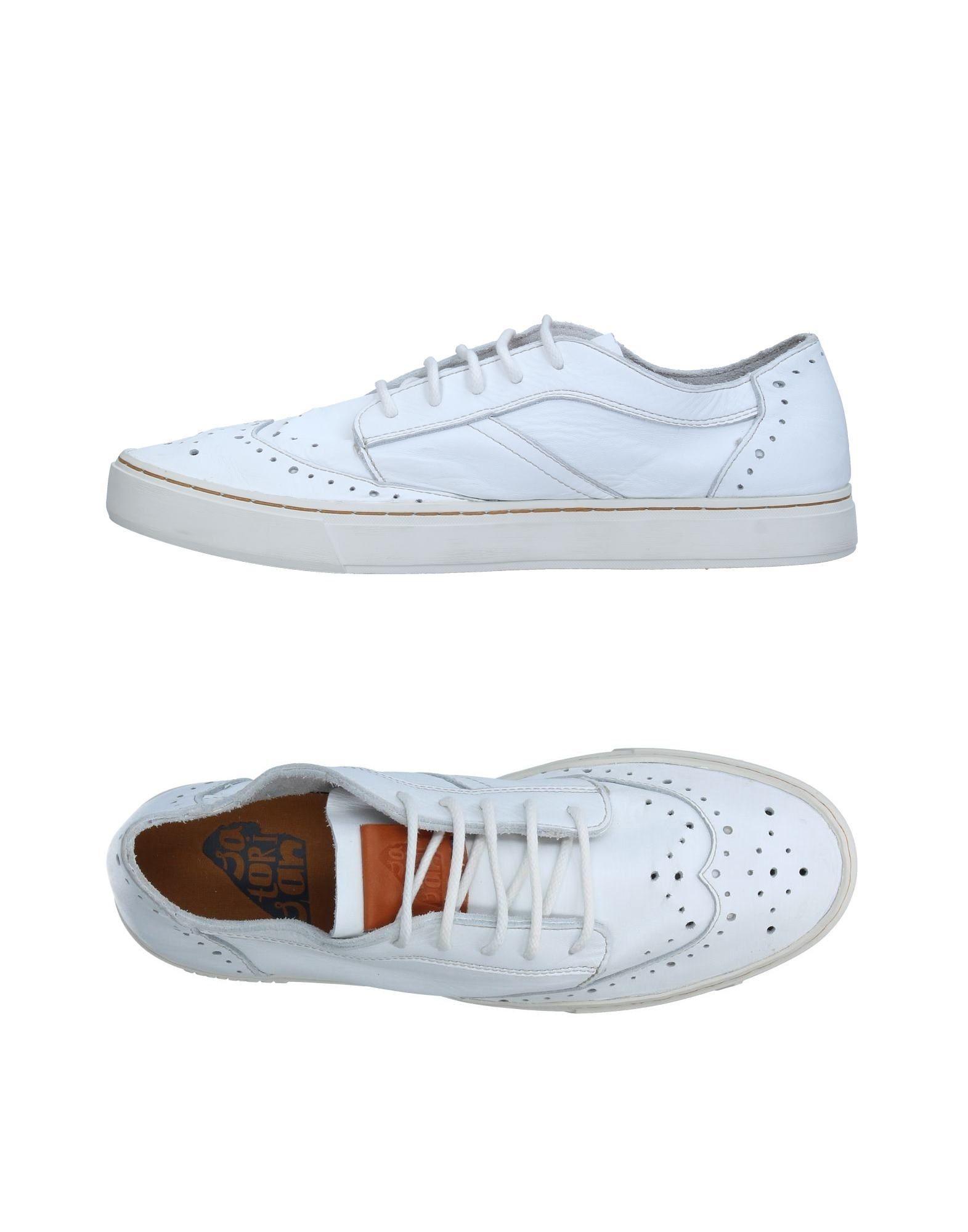《送料無料》SATORISAN メンズ スニーカー&テニスシューズ(ローカット) ホワイト 45 革