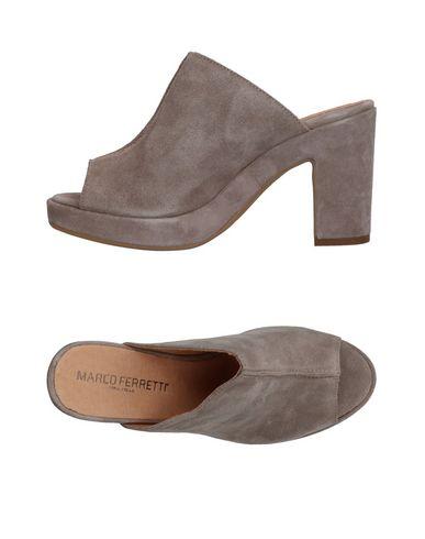 Фото - Женские сандали MARCO FERRETTI серого цвета