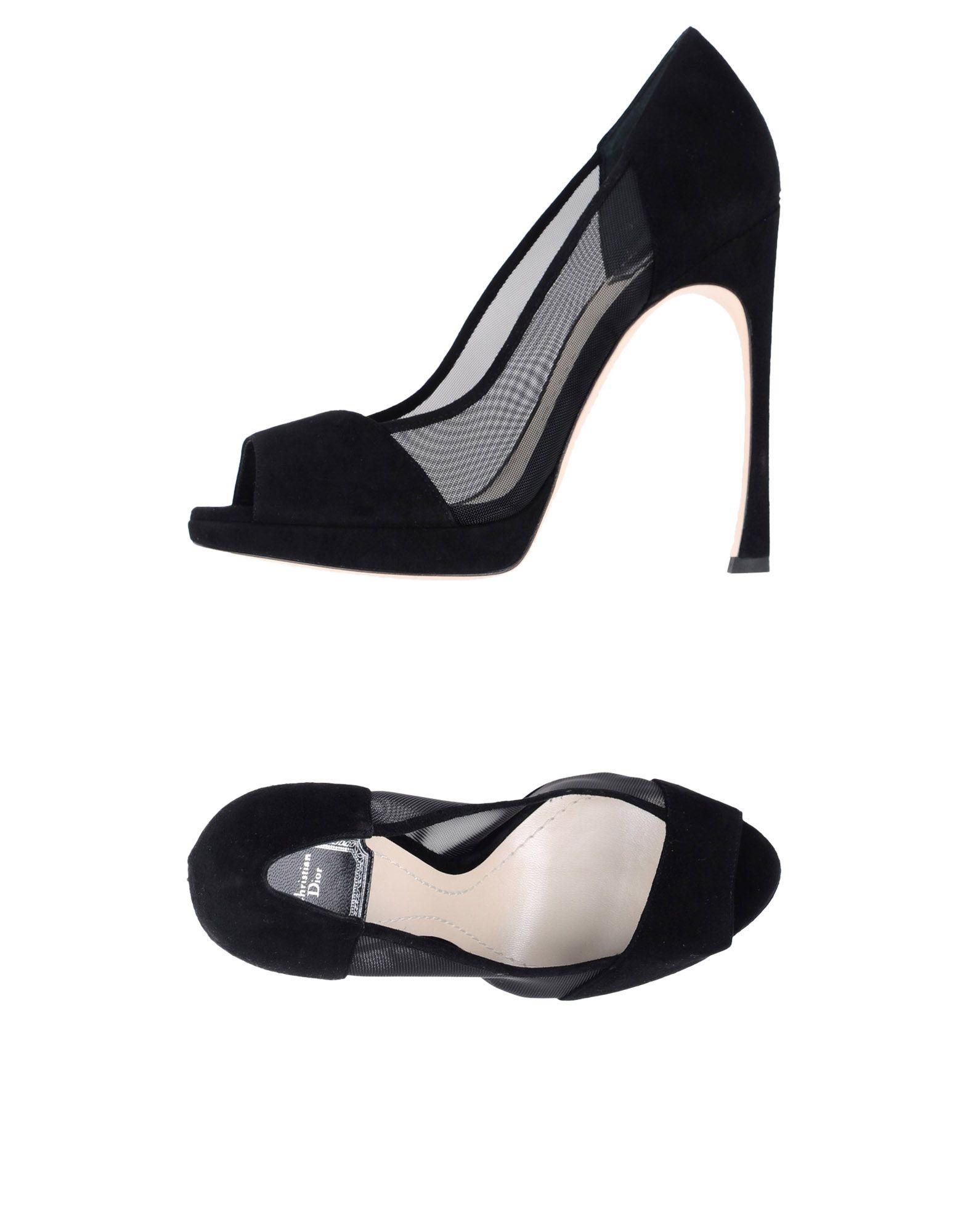 DIOR Туфли dior изделие из кашемира