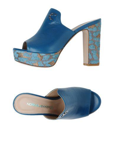 Фото - Женские сандали  пастельно-синего цвета